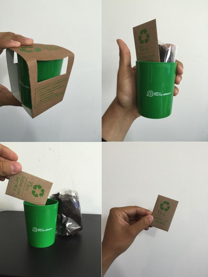 Eco promocionales productos 100 ecol gicos 100 innovadores for Empaque para regadera